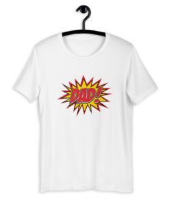 Comic Style Dad T-Shirt
