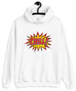 Comic Style Chill Hoodie