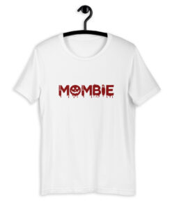 Mombie Mom T-Shirt - Blood Red Print